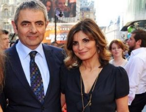 Sunetra Sastry with her ex-husband