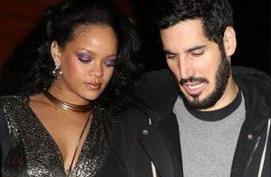 Hassan Jameel with his girlfriend