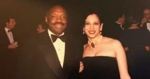 Kamala Harris with her ex-boyfriend Willie