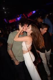 Barbara Palvin with her ex-boyfriend Julian