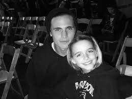 Mckenna Grace with her brother
