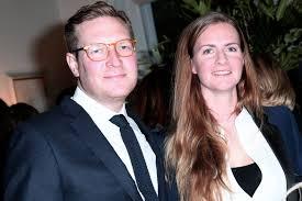 Charles Delevingne with her husband
