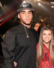 Sofia Richie with her brother