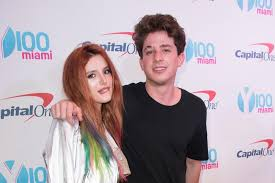 Charlie Puth with his ex-girlfriend Bella