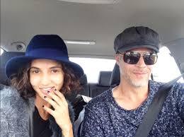 Paris St. John with her boyfriend Bryan