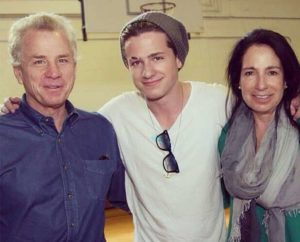 Charlie Puth with his parents