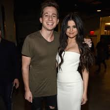Charlie Puth with his ex-girlfriend Selena