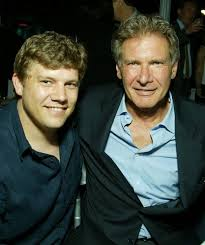 Harrison Ford with his son Benjamin