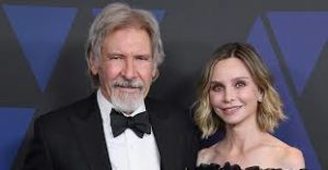 Harrison Ford with his wife Calista