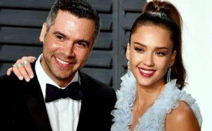 Cash Warren with his wife