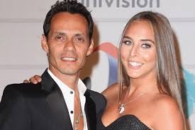 Marc Anthony with his ex-girlfriend Chloe