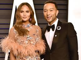 John Legend with his wife Chrissy