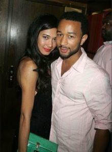 John Legend with his ex-girlfriend Danielle