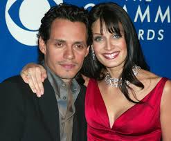 Marc Anthony with his ex-wife Dayanara
