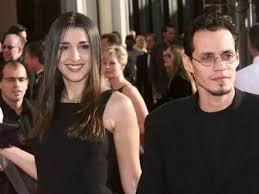 Marc Anthony with his ex-girlfriend Debbie