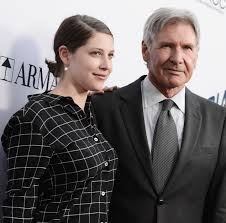 Harrison Ford with his daughter Georgia