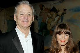 Bill Murray with his ex-girlfriend Jenny