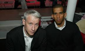 Anderson Cooper with his ex-boyfriend Julio