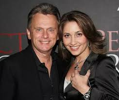 Pat Sajak with his wife Lesly