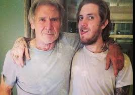 Harrison Ford with his son Malcolm