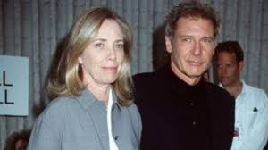 Harrison Ford with his ex-wife Mary