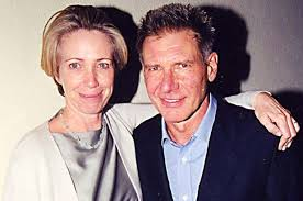 Harrison Ford with his ex-wife Melissa