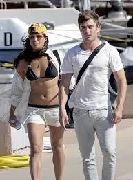 Zac Efron with his ex-girlfriend Michelle