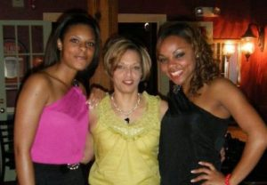 Shayanna Jenkins with her sisters
