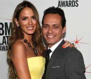 Marc Anthony with his ex-wife Shannon