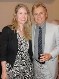 Pat Sajak with his ex-girlfriend Sherrill