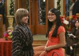 Cole Sprouse with his ex-girlfriend Sophie