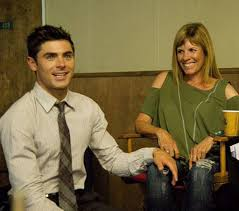 Zac Efron with his mother