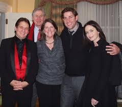 John Krasinski with his family