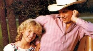 George Strait with his daughter