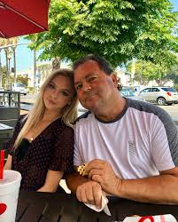 Jordyn Jones with her father