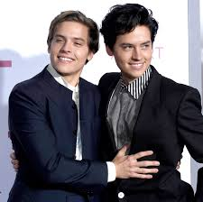 Cole Sprouse with his brother