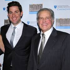 John Krasinski with his father