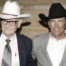 George Strait with his father