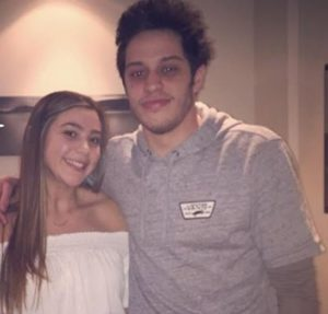 Pete Davidson with his sister