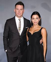 Channing Tatum with his ex-wife Jenna