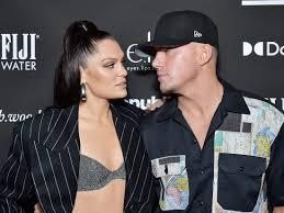 Channing Tatum with his girlfriend Jessie