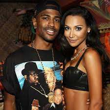 Big Sean with his ex-girlfriend Naya