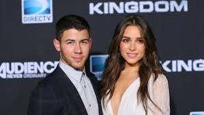 Olivia Culpo with her ex-boyfriend Nick