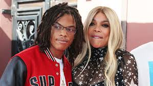 Wendy Williams with her son