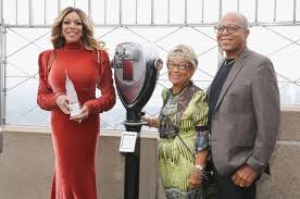 Wendy Williams with her parents