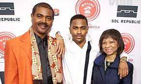 Big Sean with his parents