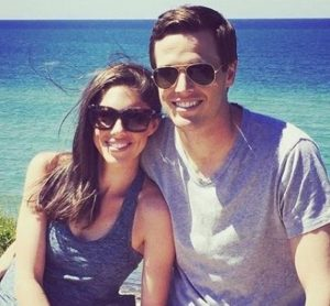 Abby Huntsman with her husband