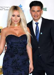 Pauly D with his ex-girlfriend Aubrey