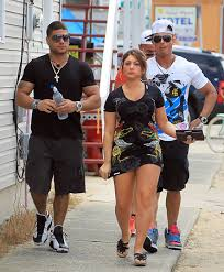 Pauly D with his ex-girlfriend Deena