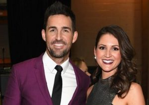 Jake Owen with his girlfriend Erica